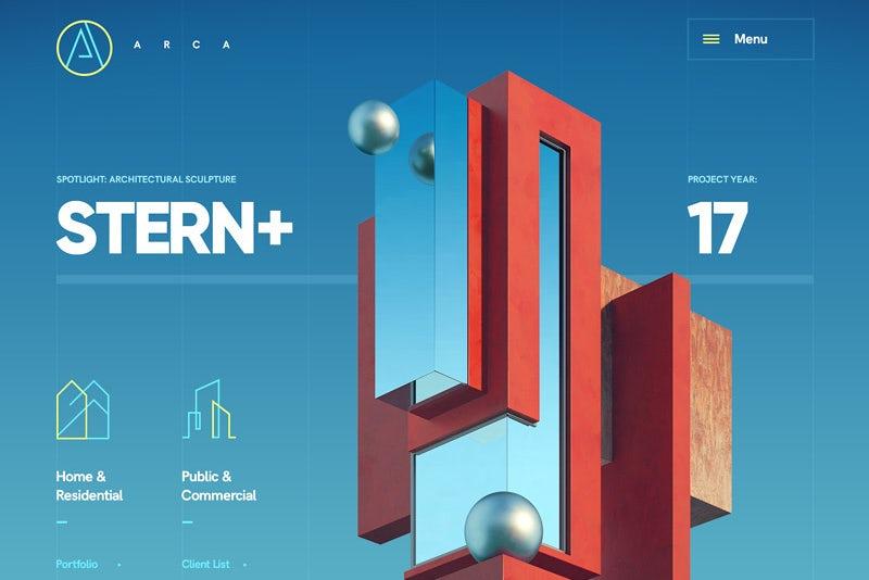 Xu hướng thiết kế website với điều hướng tối giản