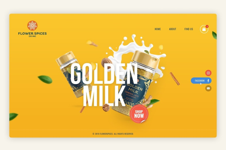Xu hướng thiết kế website với bóng mềm và các lớp nổi