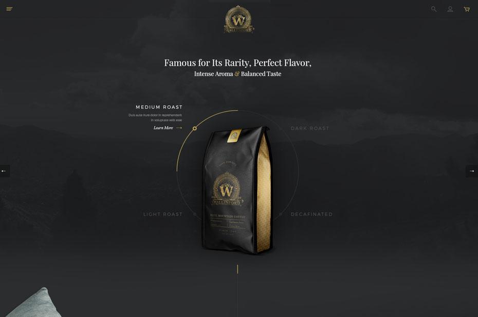 Xu hướng thiết kế website phong cách dark mode